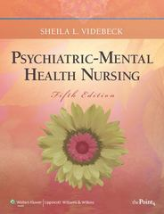 Psychiatric-Mental Health Nursing 5th Edition 9781605478616 160547861X