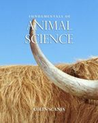 Fundamentals of Animal Science 1st edition 9781428361270 1428361278