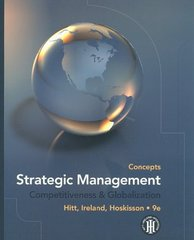 Strategic Management: Concepts 9th edition 9780538753098 0538753099