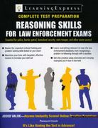 Reasoning Skills for Law Enforcement Exams 1st edition 9781576857236 1576857239