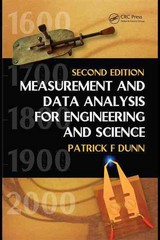 Measurement and Data Analysis for Engineering and Science, Second Edition 2nd edition 9781439825686 1439825688