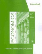 CourseBook for Gwartney/Stroup/Sobel/Macpherson's Economics: Private and Public Choice 13th edition 9780538452267 0538452269