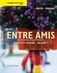 Cengage Advantage Books: Entre Amis, Volume 1 5th Edition 9780495909026 0495909025