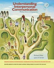 Understanding Interpersonal Communication 2nd Edition 9780495908753 0495908754