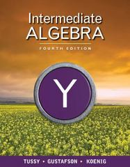 Intermediate Algebra 4th edition 9781439044360 1439044368