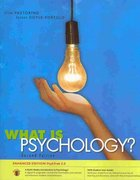 What is Psychology? PsykTrek 3.0 Enhanced Edition 2nd edition 9780495907909 0495907901