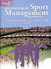 Foundations of Sport Management 2nd Edition 9781885693945 188569394X