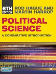 Political Science (North American edition) 6th Edition 9780230101142 0230101143