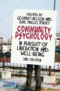 Community Psychology 2nd Edition 9780230219953 0230219950