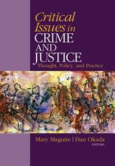 Critical Issues in Crime and Justice 0 9781412970570 1412970571