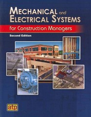 Mechanical and Electrical Systems for Construction Managers 2nd Edition 9780826993601 0826993605
