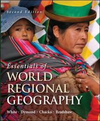 Essentials of World Regional Geography 2nd edition 9780073369334 0073369330