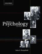 A History of Psychology 3rd Edition 9780195430219 0195430212