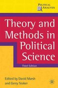 Theory and Methods in Political Science 3rd edition 9780230576278 0230576273