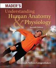 Mader's Understanding Human Anatomy & Physiology 7th Edition 9780073525624 0073525626