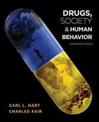 Drugs, Society, and Human Behavior 14th edition 9780073380902 0073380903