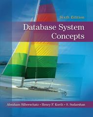 Database System Concepts 6th edition 9780077418007 007741800X