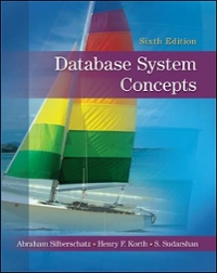 Database System Concepts 6th Edition 9780073523323 0073523321