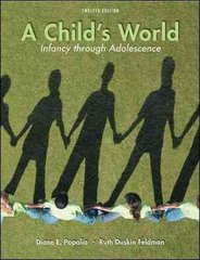 A Child's World 12th Edition 9780073532042 0073532045