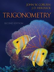Trigonometry 2nd edition 9780077349974 0077349970