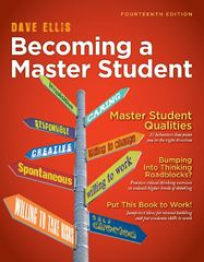 Becoming a Master Student (Textbook-Specific Csfi) 14th Edition 9781111827533 1111827532