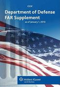 Department of Defence FAR Supplement as of January 2010 0 9780808022473 0808022474