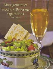 Management of Food and Beverage Operations 5th edition 9780866123440 086612344X