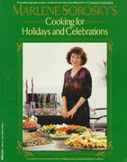 Marlene sorosky's cooking for holidays and celebrations 0 9781557881953 1557881952