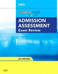 Admission Assessment Exam Review 2nd edition 9781416056355 1416056351