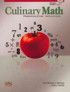 Culinary Math Principles and Applications 1st Edition 9780826942111 0826942113