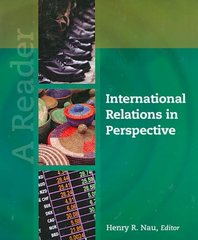 International Relations in Perspective 1st edition 9781604269932 1604269936