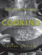 Study Guide to Accompany Professional Cooking 7th edition 9780470197516 047019751X