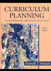 Curriculum Planning 4th Edition 9781478616962 1478616962