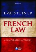 French Law 1st Edition 9780199232376 0199232377