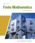 Finite Mathematics with Applications In the Management Natural and Social Sciences