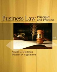 Business Law: Principles and Practices (Cengage Advantage Books) 8th edition 9781439079225 1439079226