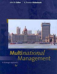 Multinational Management 5th edition 9781439080658 1439080658