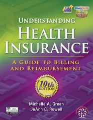 Understanding Health Insurance 10th edition 9781111035181 1111035180