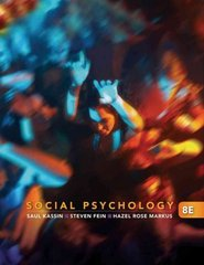 Social Psychology (Available Titles Cengagenow) 8th edition 9780495812401 0495812404