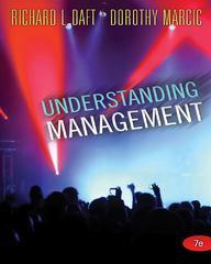 Understanding Management 7th edition 9781439042328 1439042322