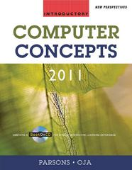 New Perspectives on Computer Concepts 2011 13th edition 9780538744829 0538744820