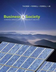 Business and Society 4th edition 9781439042311 1439042314