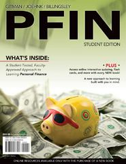 PFIN 2010 (with Review Cards and Finance CourseMate with eBook Printed Access Card) 1st edition 9780538743655 0538743654