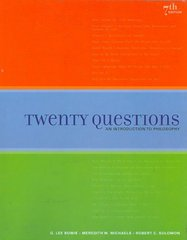 Twenty Questions 7th edition 9781439043967 1439043965