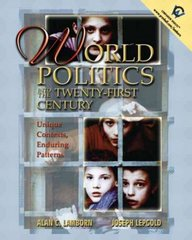 World Politics into the 21st Century 1st edition 9780130325358 013032535X