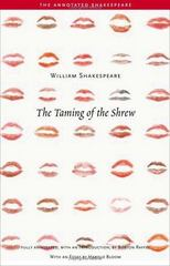 The Taming of the Shrew 1st Edition 9780300109825 0300109822