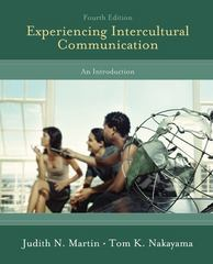 Experiencing Intercultural Communication 4th Edition 9780073406794 0073406791
