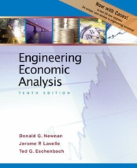 Engineering Economic Analysis 10th Edition 9780195394634 0195394631