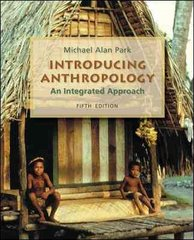 Introducing Anthropology 5th edition 9780078116957 0078116953