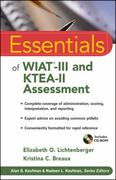 Essentials of WIAT-III and KTEA-II Assessment 1st Edition 9780470551691 0470551690
